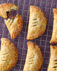 eccles cakes on rack