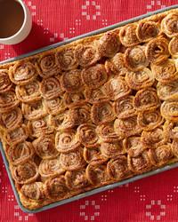 Martha's Amazing Apple Pie Has 63 Mini Cinnamon Rolls On Top