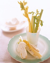 Celery Sticks with Horseradish Cream Cheese