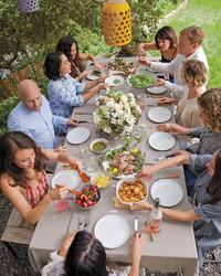 Shiva Rose and Friends Host a Garden-Fresh Easter Feast