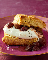 grape shortcake martha bakes