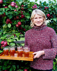 What's Martha's Favorite Fall Drink?