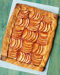 pink apple tart martha bakes