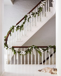 Plaster Leaves are the Secret to This Everlasting Garland