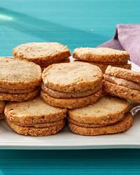 almond cookie sandwich martha bakes