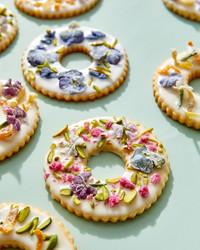 装饰花环饼干
