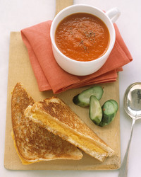Have You Tried Martha's Favorite Grilled Cheese and Tomato Soup Combo Yet?