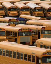 The Latest Trend in Tiny Homes? Upcycled School Buses