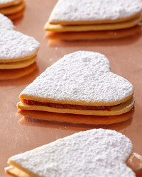 Fall in Love with Martha's Sandwich Heart Cookies