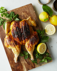 SPATCHCOCKED SAFFRON CHICKEN