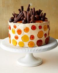 caramel chiffon cake adorned martha bakes