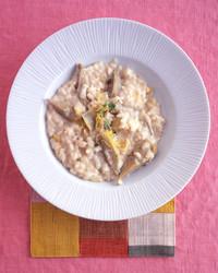 Artichoke Risotto with Mascarpone, Lemon, and Thyme