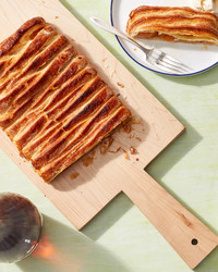 apple jalousie tart martha bakes puff pastry