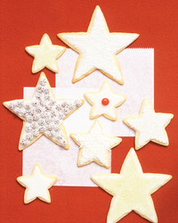 basic sugar cookies stars