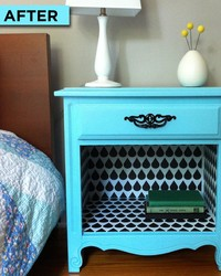 Flea Market Flip! How to Make Over a Bedside Table