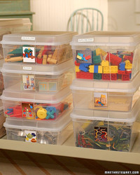 Organizing Kids' Toys