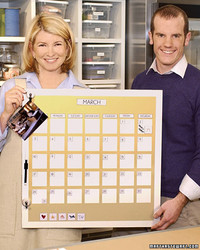 Magnetic Calendar Board