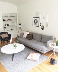 Modern Meets Midcentury: A Living Room Before and After