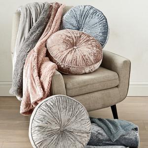 Whim by Martha Stewart Collection Velvet Decorative Pillows & Throws