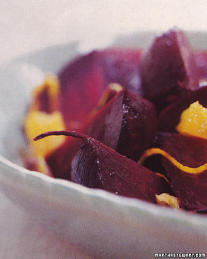 Roasted Beets with Orange and Ginger image