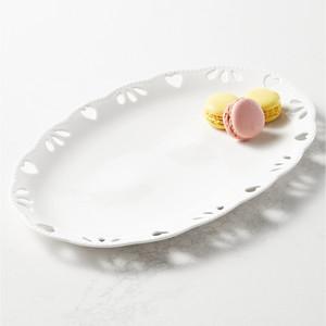 Martha Stewart Collection Pierced Heart Platter