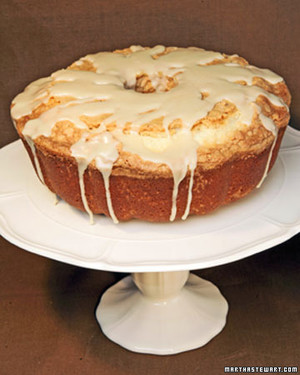 Pound Cake With Maple Glaze Recipe Amp Video Martha Stewart