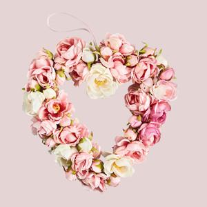 Martha Stewart Collection Valentine's Day Wreath