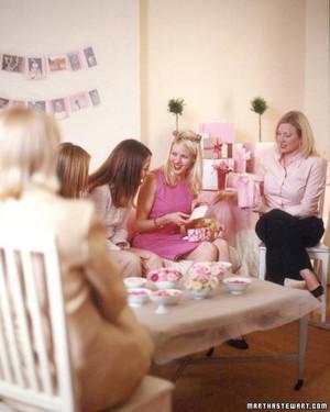 planning a babyshower