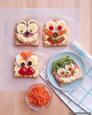 Open Face Sandwiches Recipe Martha Stewart