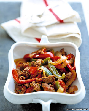 Sausage-and-Pepper Stew