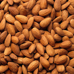Almonds in California