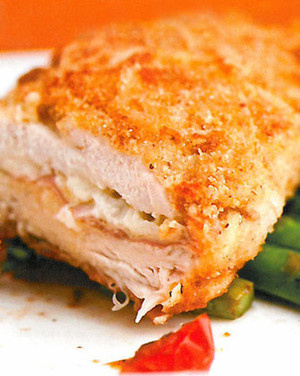 Chicken cordon bleu recipe video martha stewart chicken cordon bleu forumfinder Gallery