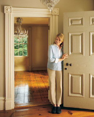 Peek Inside Martha's First Home!
