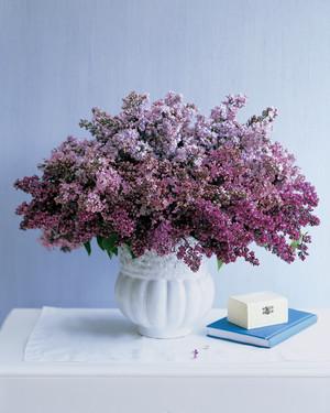 Purple flower arrangements martha stewart lilac arrangements mightylinksfo