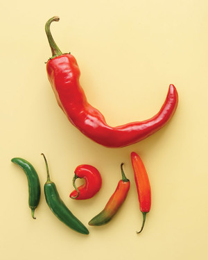 Red Hot & Not: Chile Pepper Recipes