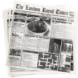 London Times Tissue Liners