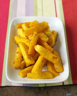 Baked Polenta Fries Recipe Martha Stewart