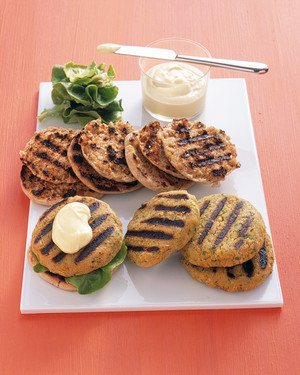 Vegetarian Burger and Grilling Recipes