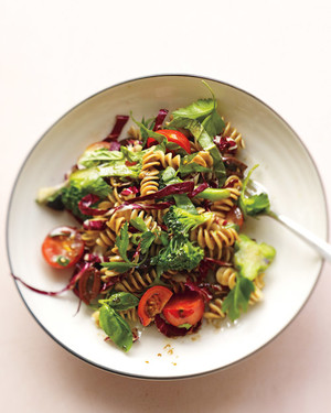 Italian Pasta Salad Recipes: Cue the Olives, Mozzarella, and Arugula