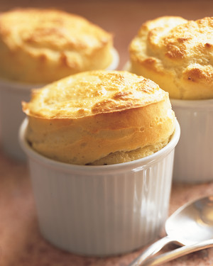 Goat Cheese Souffles