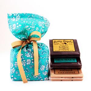 Chocolate Assortment and Liberty of London Gift Bag