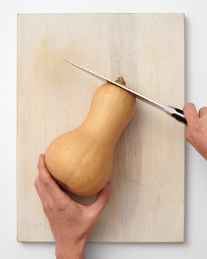 How to Cut a Butternut Squash