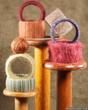 Handmade Yarn and Felt Jewelry
