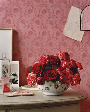 Red flower arrangements martha stewart red flower arrangements mightylinksfo