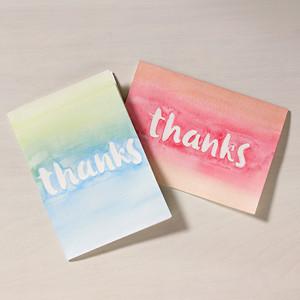 Martha Stewart DIY Thank You Cards
