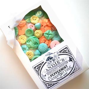 Peppermint Candy Buttons