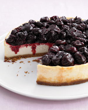 Cheater Skinny Low Fat Cherry Cheesecake l Homemade Recipes Cherry Cheesecake Brownies with Cherry Swirl