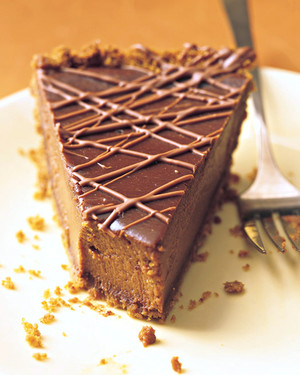 Thanksgiving Triple-Chocolate Pumpkin Pie | Thanksgiving Dessert Recipes | Decadent Cakes, Pies, And Pastries