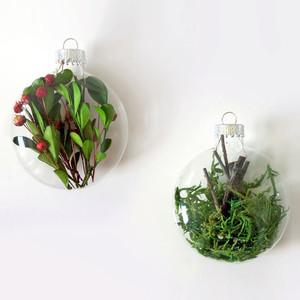 Moss + Twig Ornaments