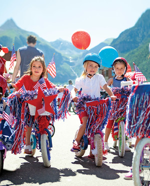 Fourth of July Bike Parade